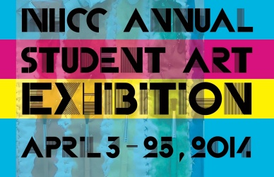 NHCC Art Exhibition Postcard