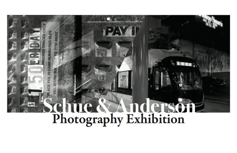 Shue and Anderson Photography Exhibition Postcard