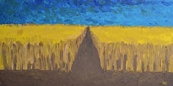 Wheat Field at Dawn 1